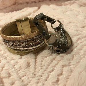 Buckle bracelets! BKE and Good Works Bracelets